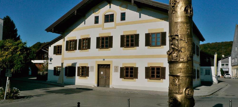 Marktl am Inn - Geburtshaus Papst Benedikt - Foto: Thomas Reicher
