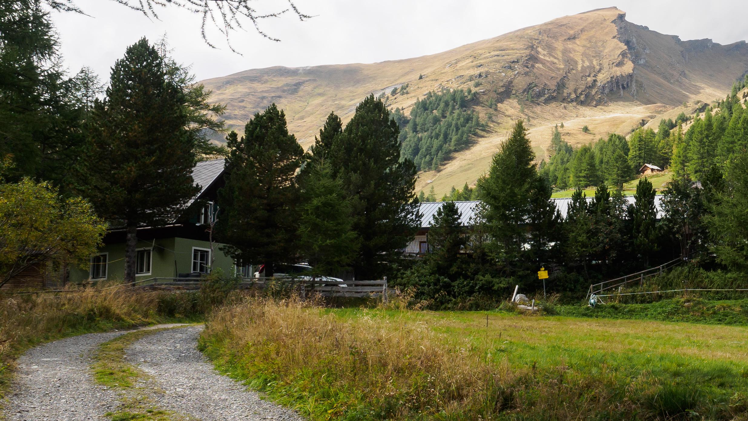 Herbsturlaub auf der romantischen Peitlerhütte